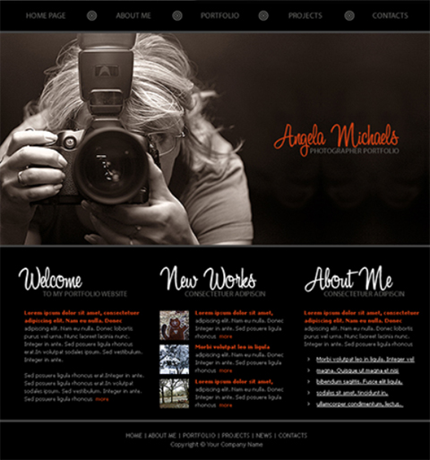Get All-Black Web Templates Free | Website Templates Blog: www.websitetemplatesonline.com/blog/2011/05/get-all-black-web...