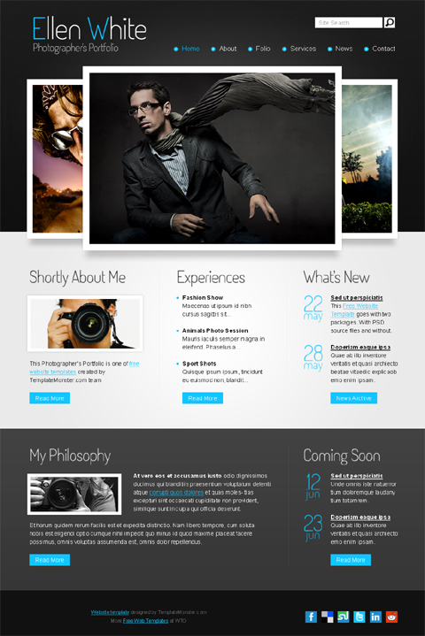 free web template