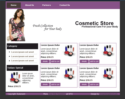 Free Web Templates for Online Stores | Website Templates Blog