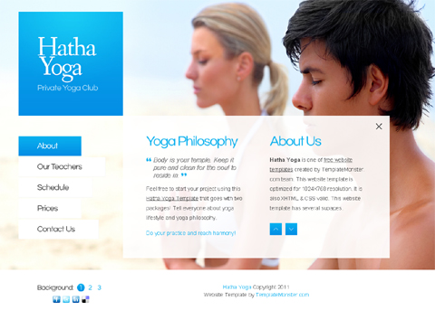 website template at no charge