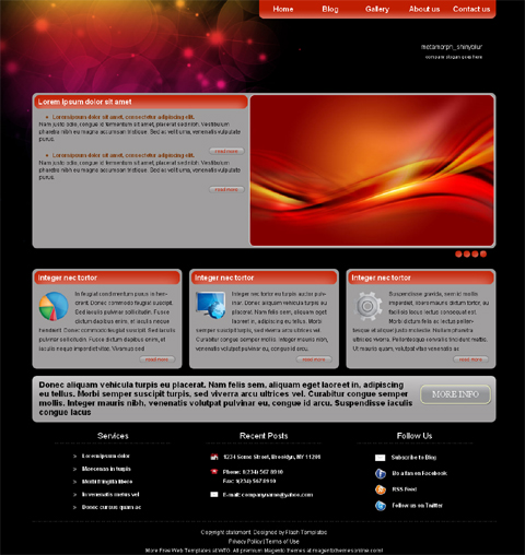 web page design for free