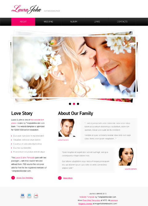 Free Templates about Love and Romance – Love Templates Free