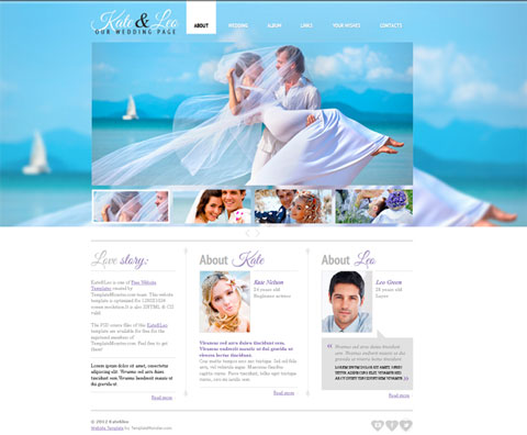 Free websites templates for download