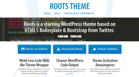 Bootstrap for WordPress Template