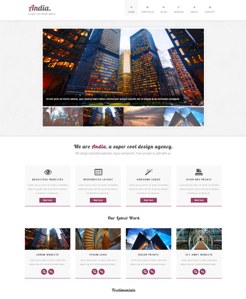 Free Bootstrap Template