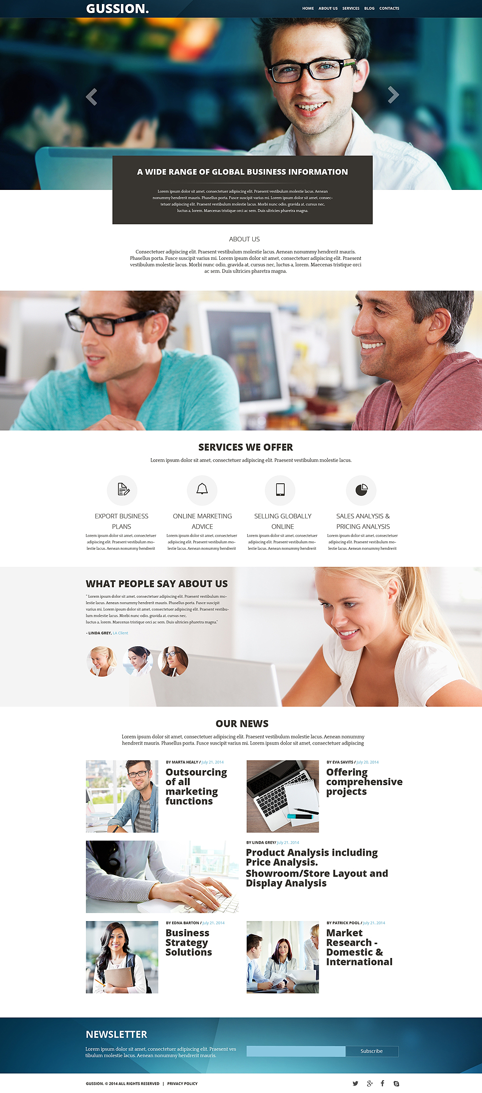 business-muse-template