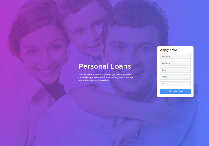 drag-and-drop landing pages